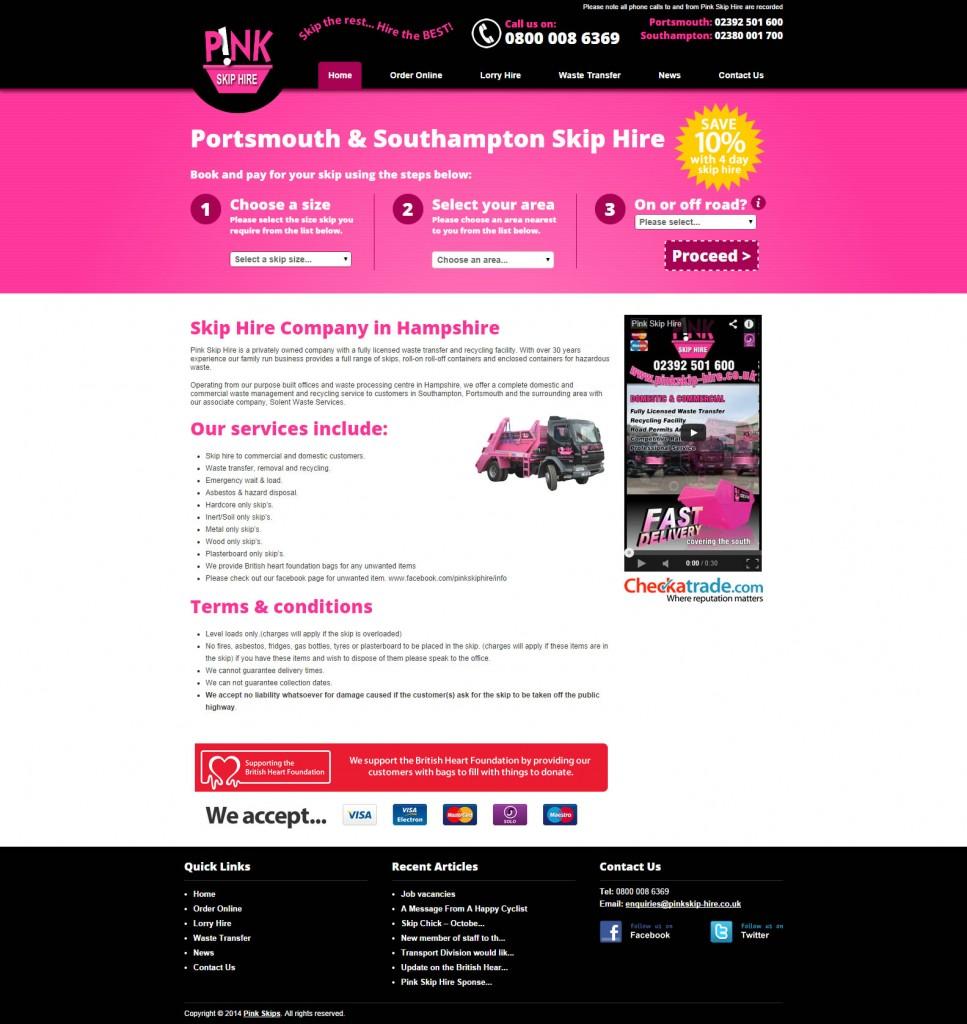 Pink Skip Hire