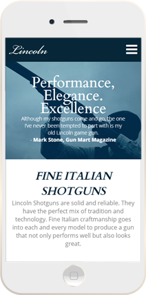 Lincoln Shotguns