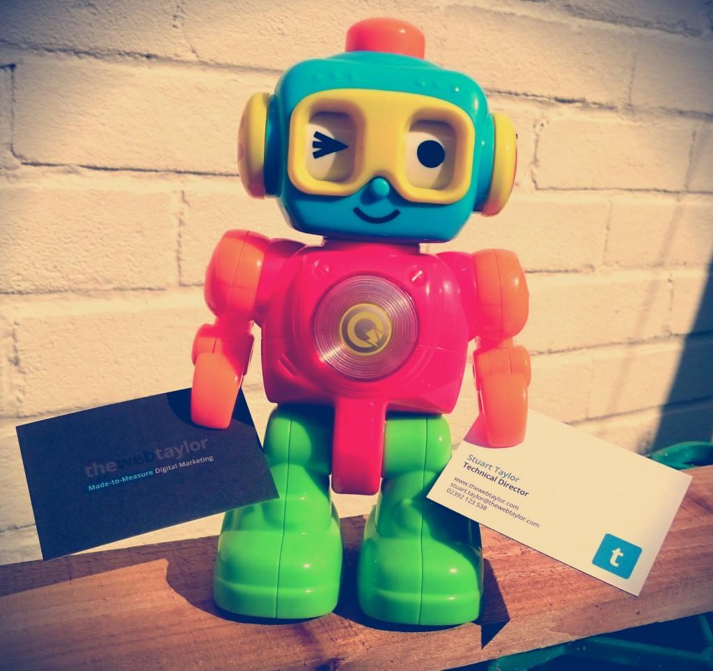 Business Card Robot