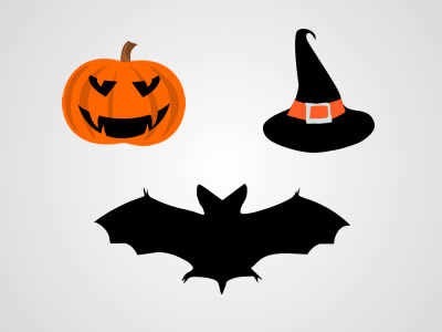 Halloween Graphics Pack PSD