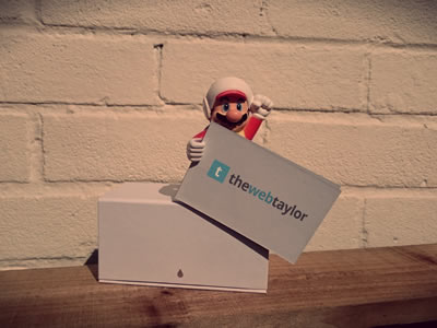 Our Lovely New Business Cards