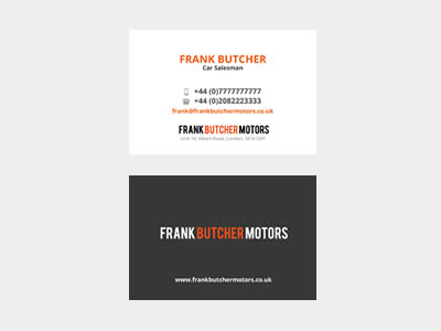 Free Business Card Illustrator (AI & EPS) Template