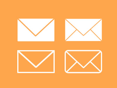Free Envelope / Mail Icons PSD