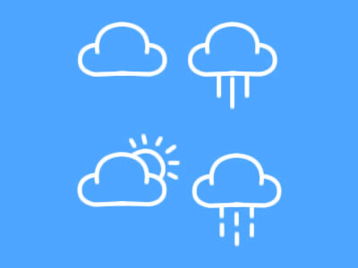 Free Weather Icons PSD
