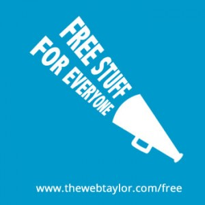 TheWebTaylor Free Stuff